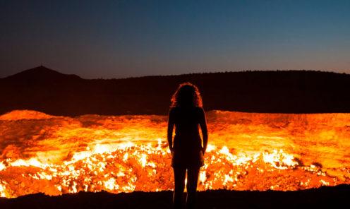 Дарваза, туризм в турменистане, туры в туркменистан, поездка в туркменистан