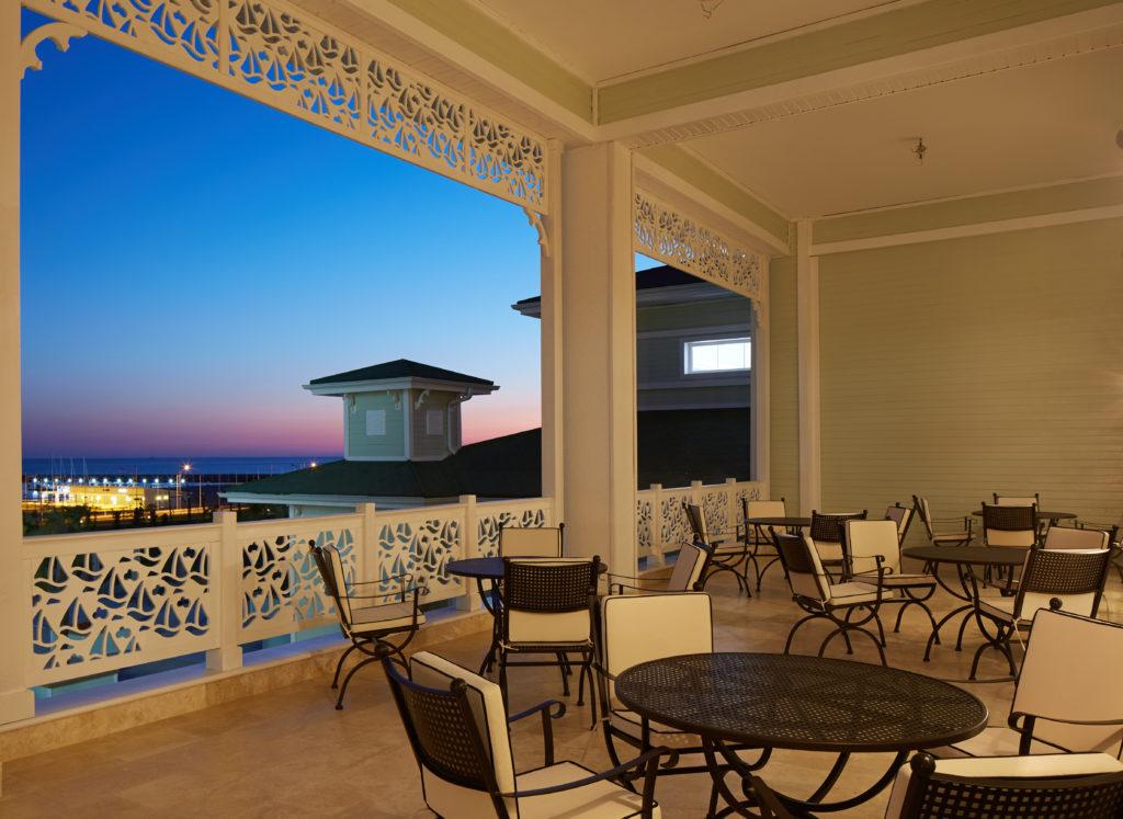 Отель Елкен вилла вид из окна