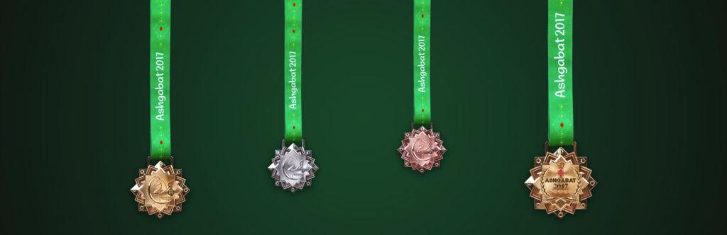 медали Азиада 2017