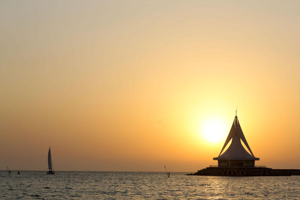 Закат солнца в Авазе