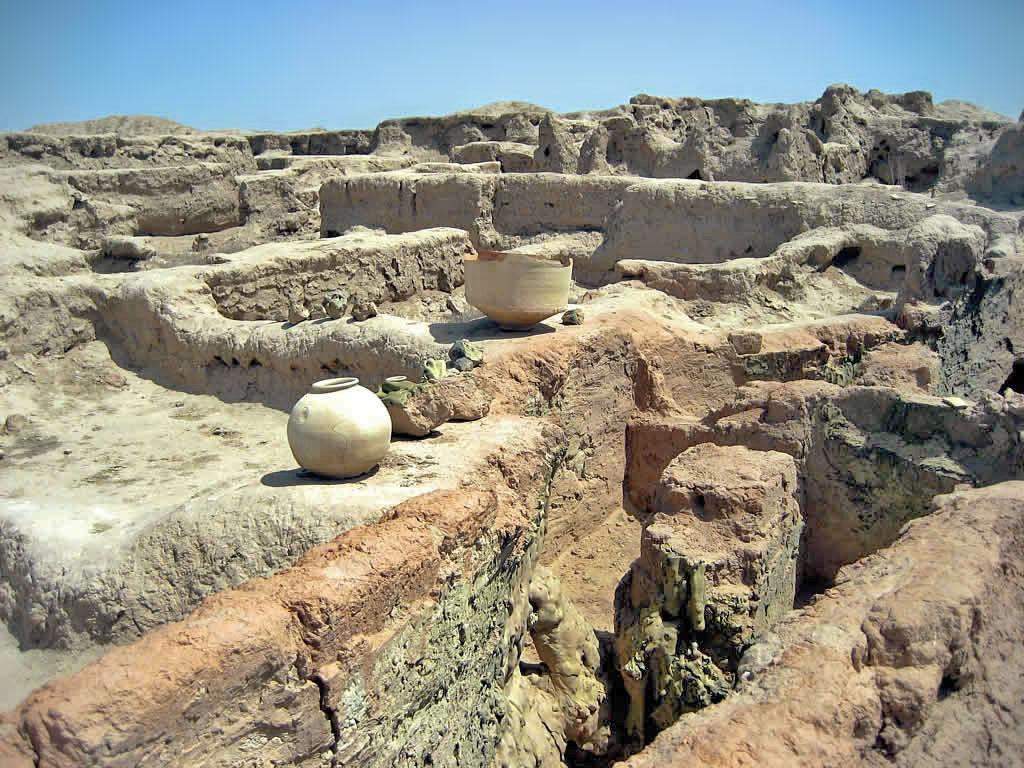 Гонур депе в Туркменистане