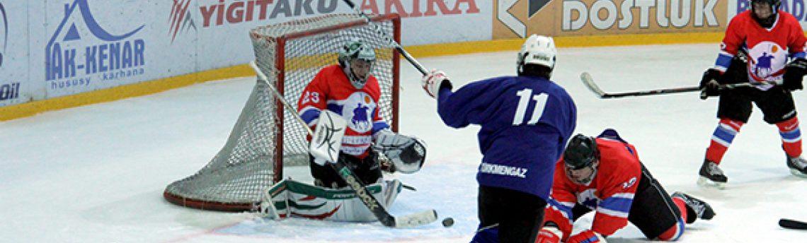 Туркменские хоккеисты готовятся к зимней Азиаде, которая состоится в феврале в Японии