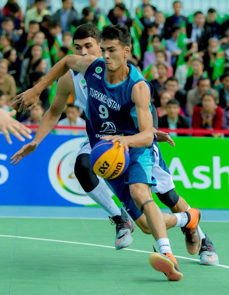 Баскетбол матч Туркменистан