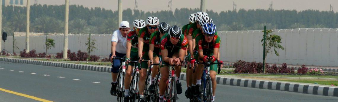 Велогонщики из Туркменистана провели учебно-тренировочные сборы в ОАЭ