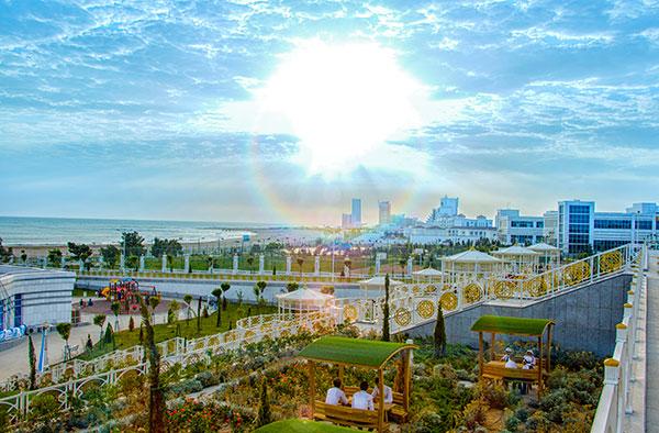 панорама из отеля Авазы