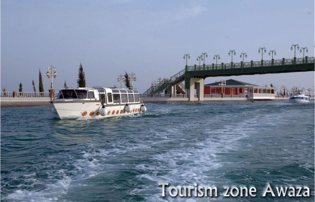 Каспийское море, прогулка на катере