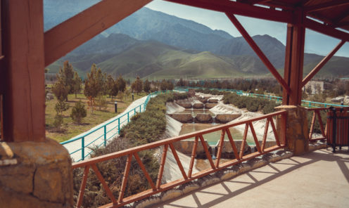 Зоопарк Ашхабада река