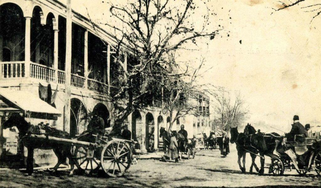 Ашхабад в начале 20 века