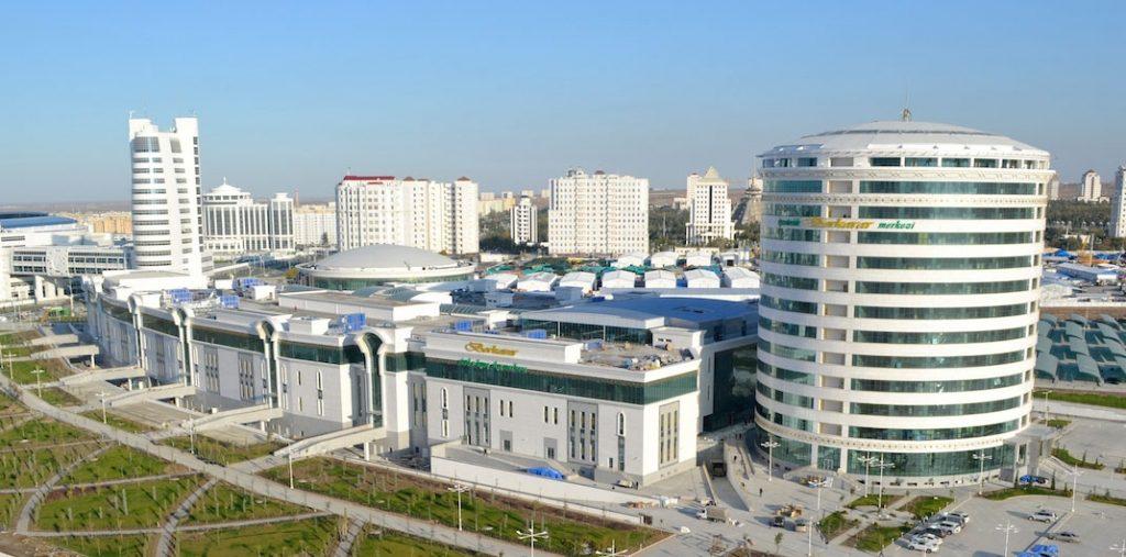 Панорама олимпийский комплекс ашхабад
