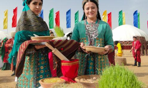Женщины Туркменстана