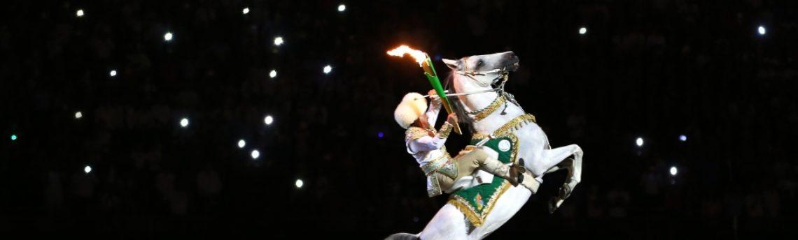 В столице Туркменистана прошла торжественная церемония открытия V Азиатских игр в закрытых помещениях и по боевым искусствам