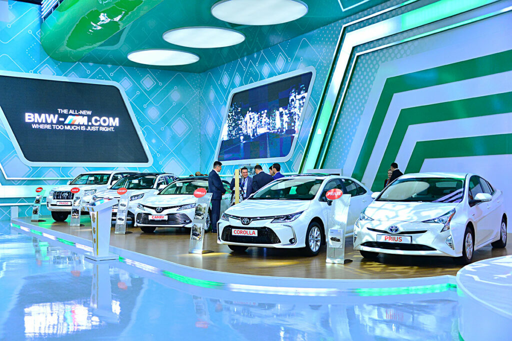 Автомобильная выставка Turkmen Sahrasy 2019