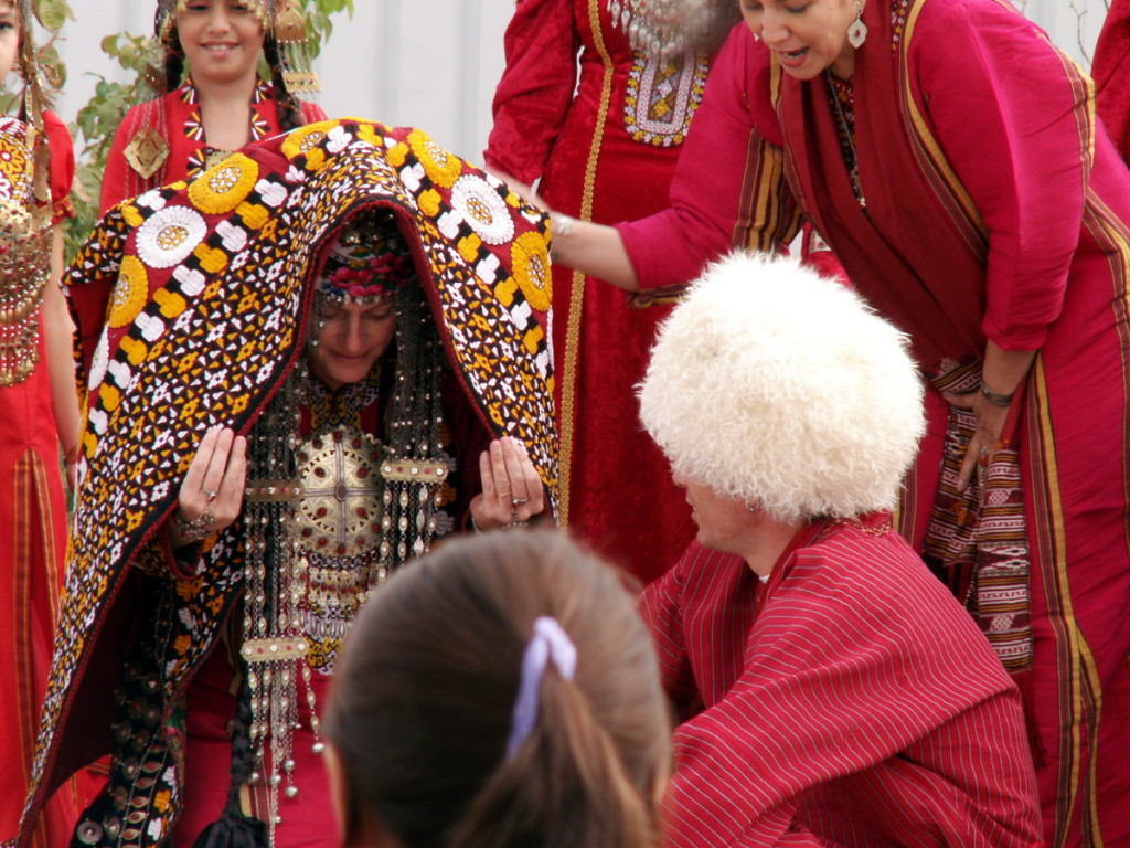 Свадьба, Туркменистан