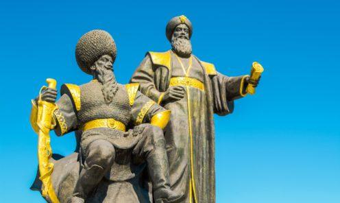 Ашхабад статуя