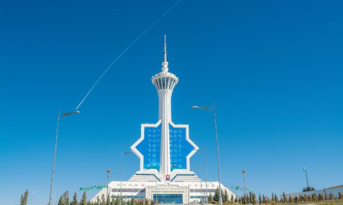 Телевизионная башня Ашхабад