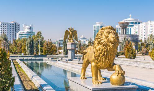 Ашхабад львы фонтаны