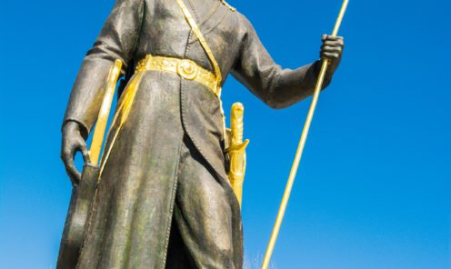 Ашхабад фото города статуя