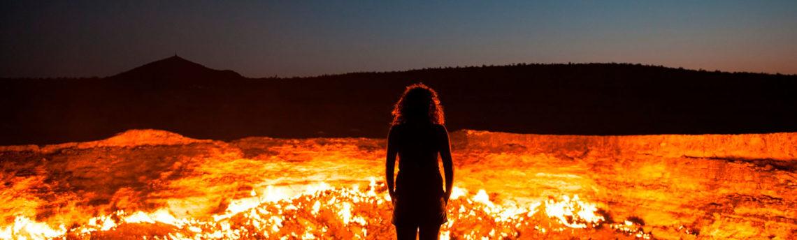Туры в Туркменистан. Дарваза — путешествие к газовому кратеру.