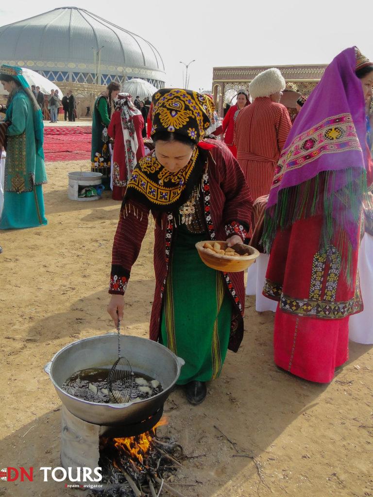 приготовление еды праздник Новруз